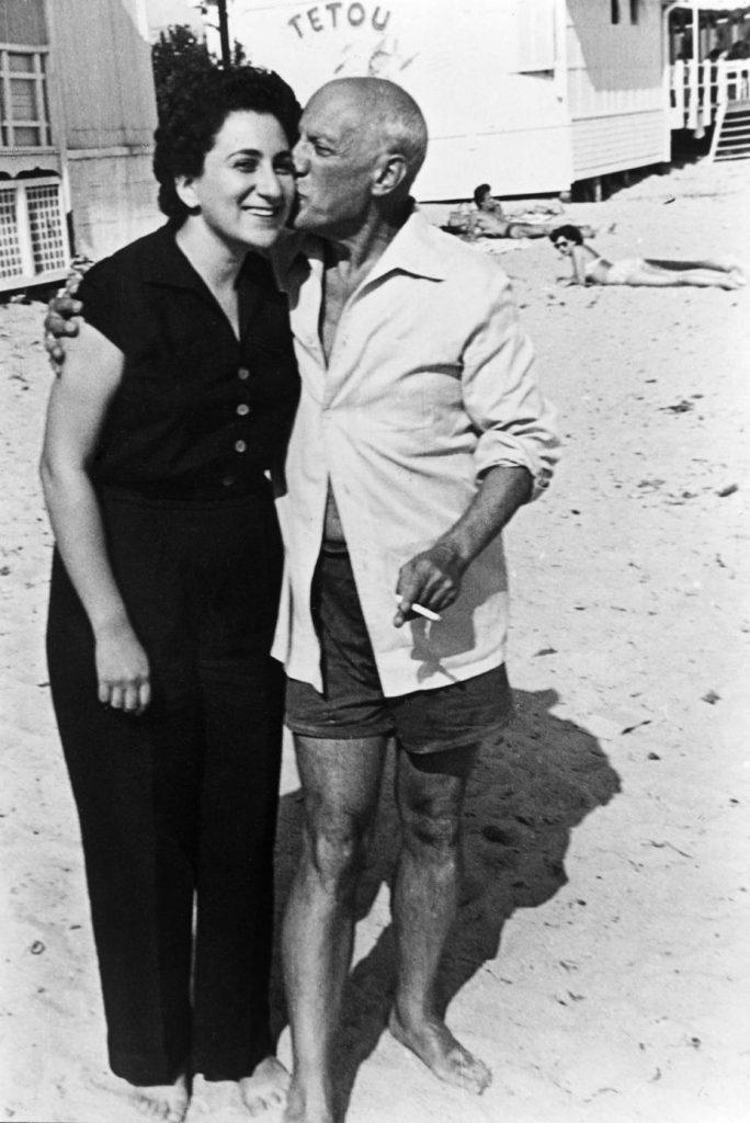 Margot Benacerraf y Picasso