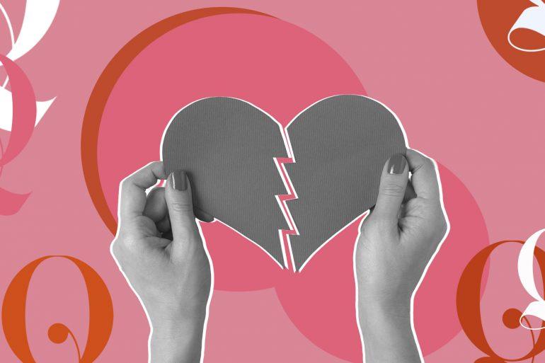 un corazón roto qmode