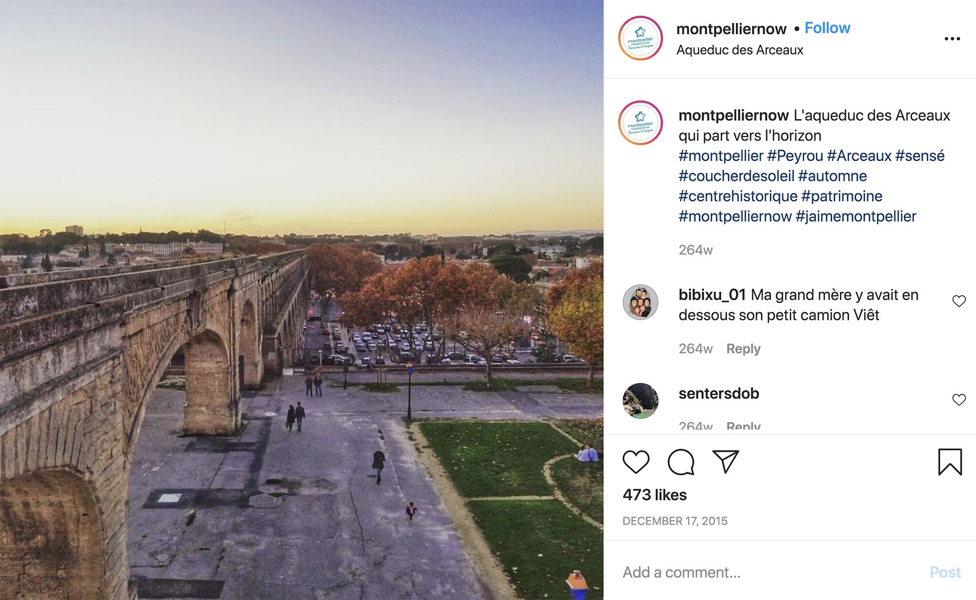 Montpellier que ver acueducto