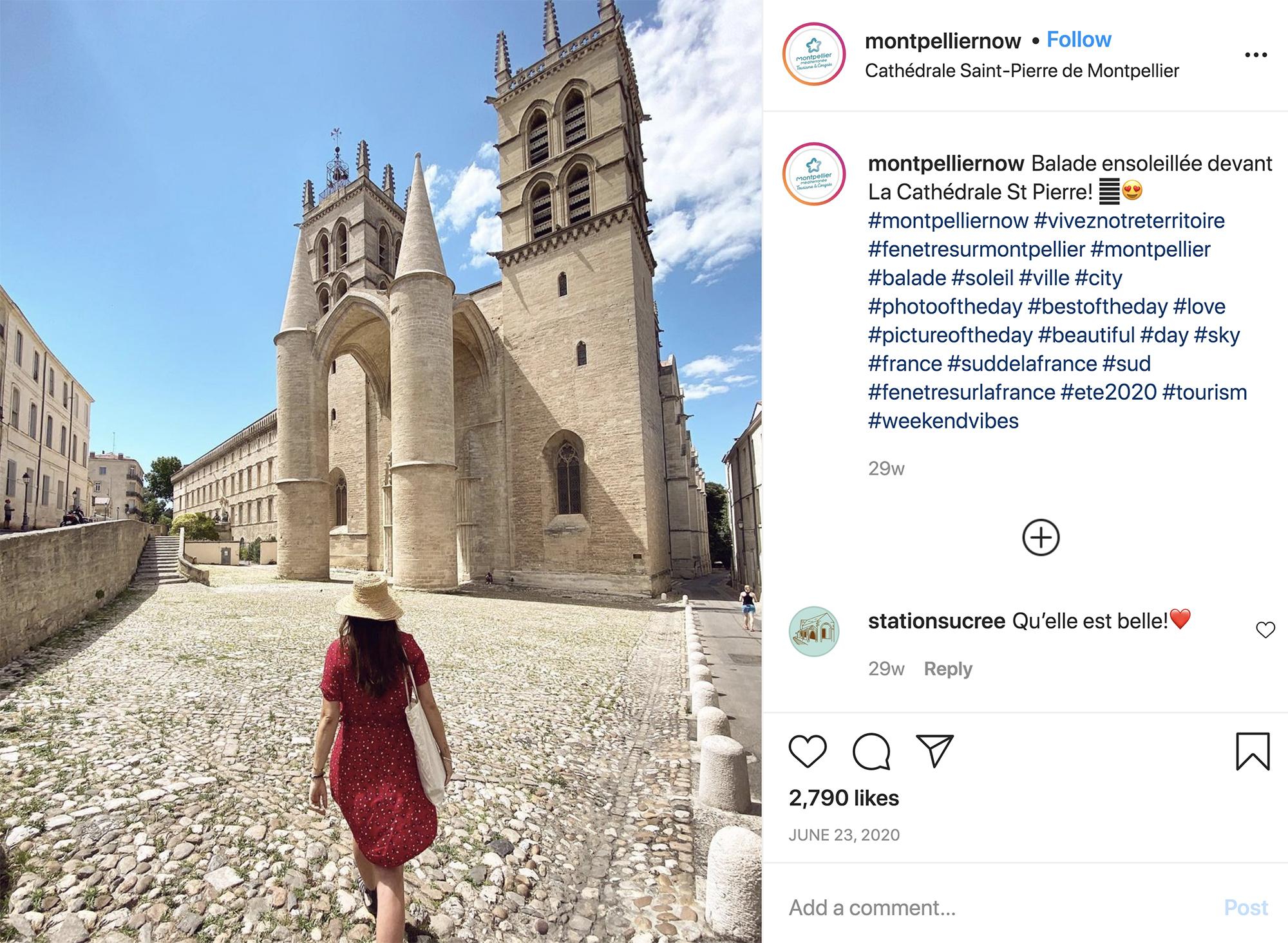 Visitar Montpellier catedral