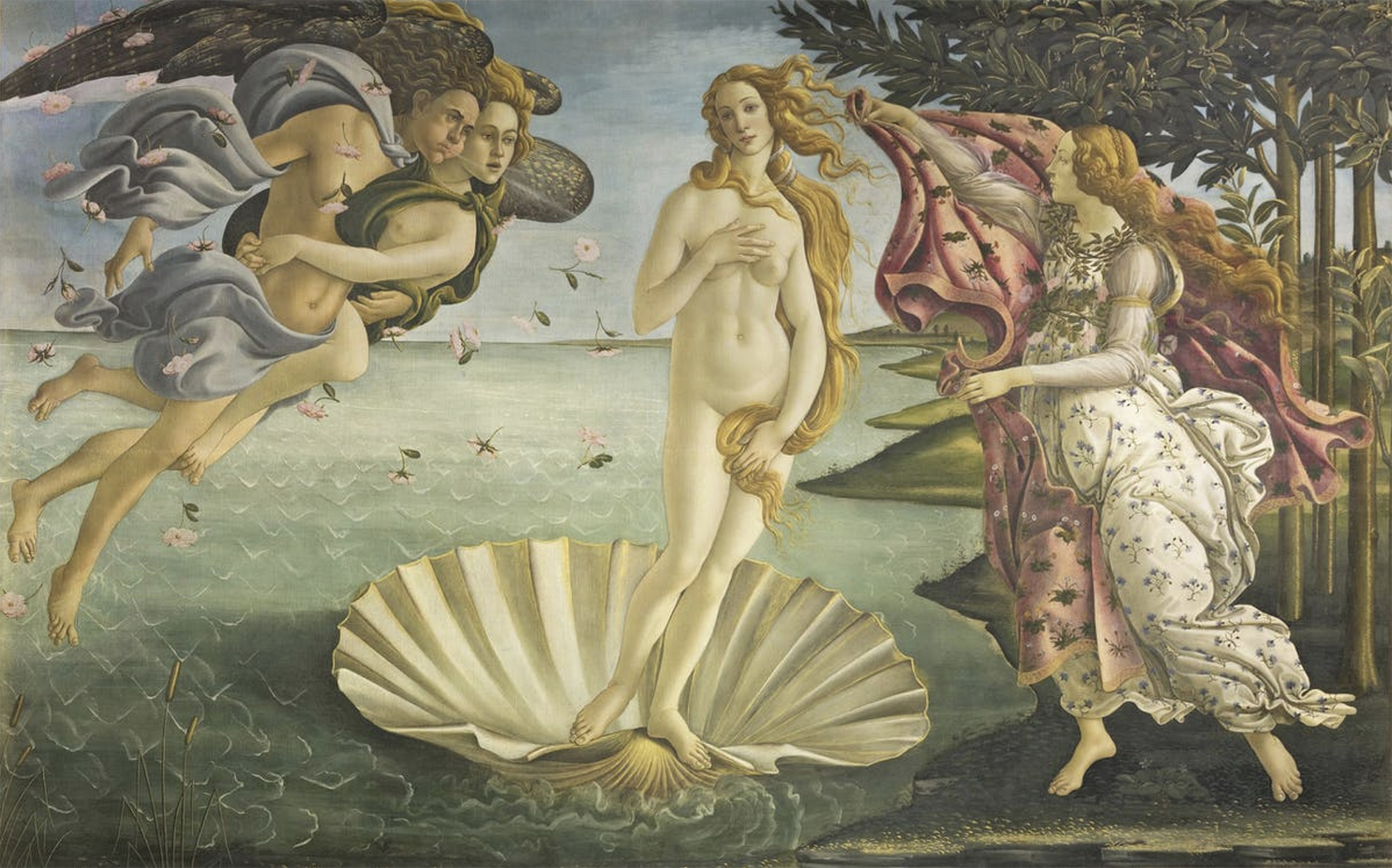 Cuadros famosos de mujeres desnudas