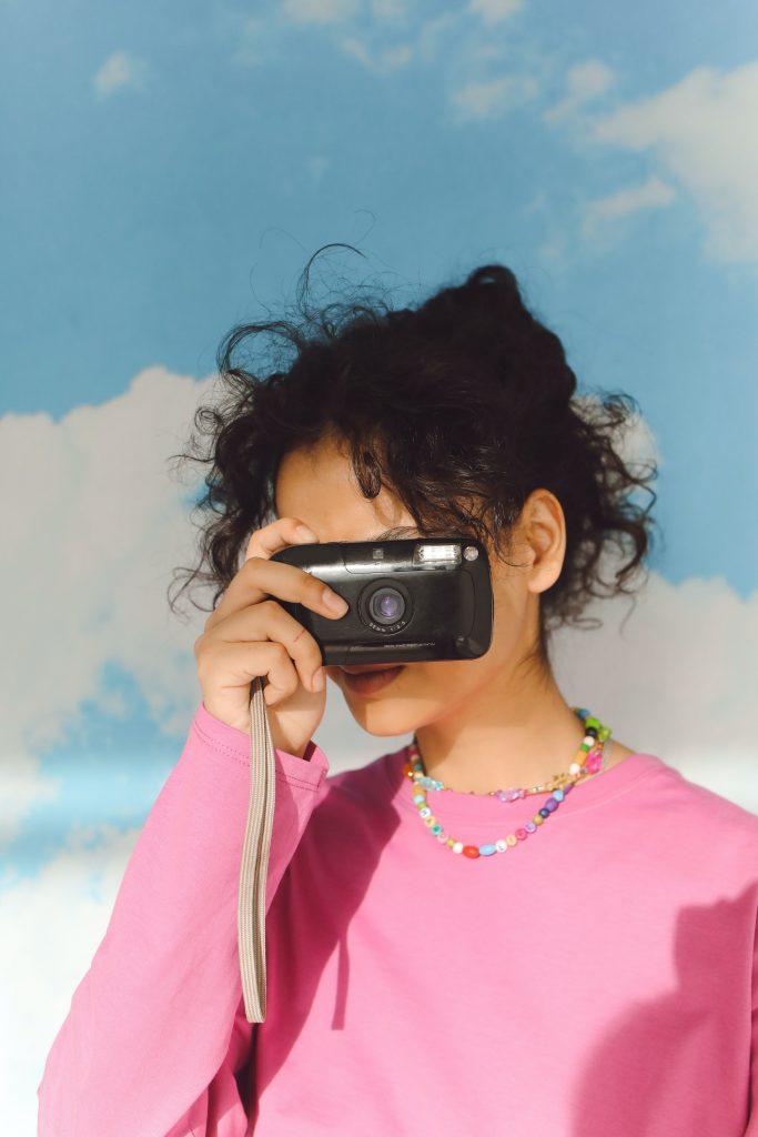Usar una cámara de fotos